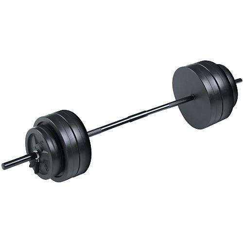 cheap bar with weights