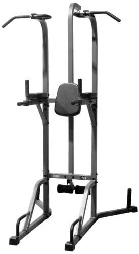 Read the customer reviews of this power tower heavy bag combo equipment here