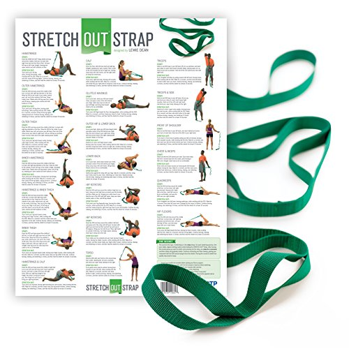 The Original Stretch Out Strap with Exercise Poster