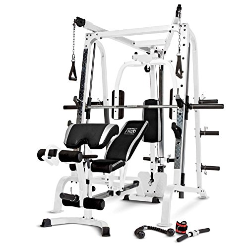 Click here for details and reviews on Marcy Smith Cage Total Body Training Home Gym System