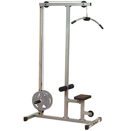 Body-Solid Powerline PLM180X LAT and Low Row Cable Pull Down Machine