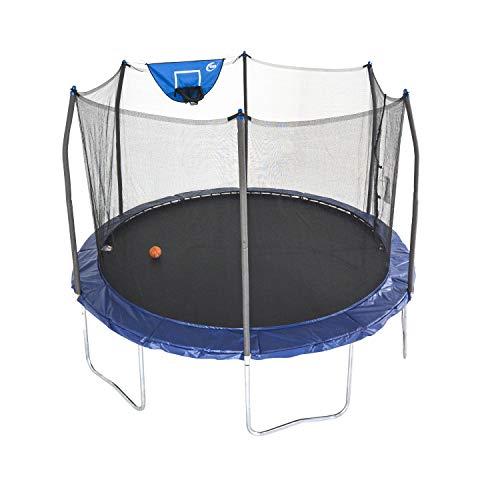 Skywalker Trampoline with Safety Enclosure and Basketball Hoop