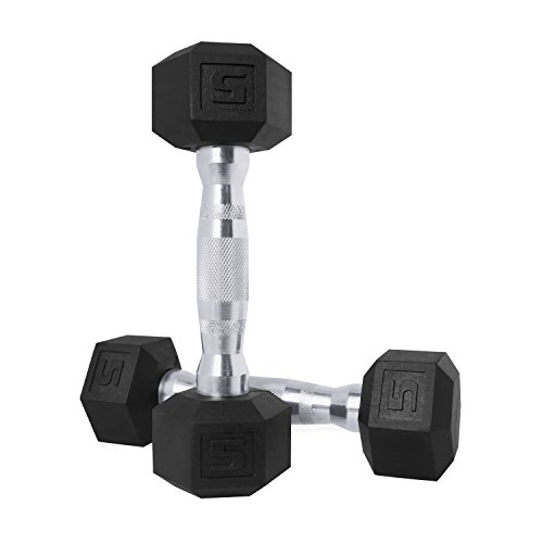 CAP Barbell SDPP-020 Color Coated Hex Dumbbells from 5 to 50 lbs