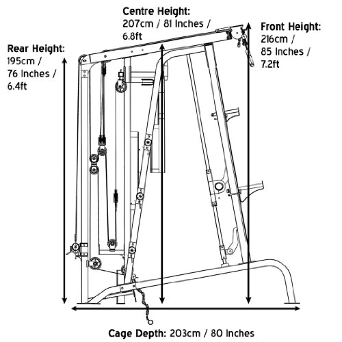 Marcy power Cage Machine