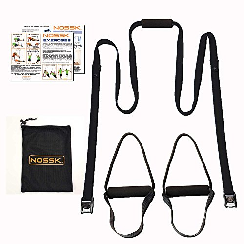 Get more details about the NOSSK suspension trainer at Amazon