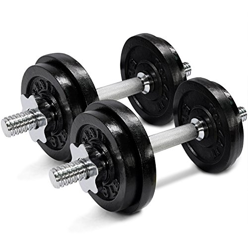 Yes4All Adjustable Dumbbells from 40 to 200 lbs