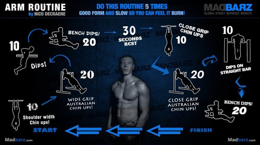 arm-calisthenics-routine