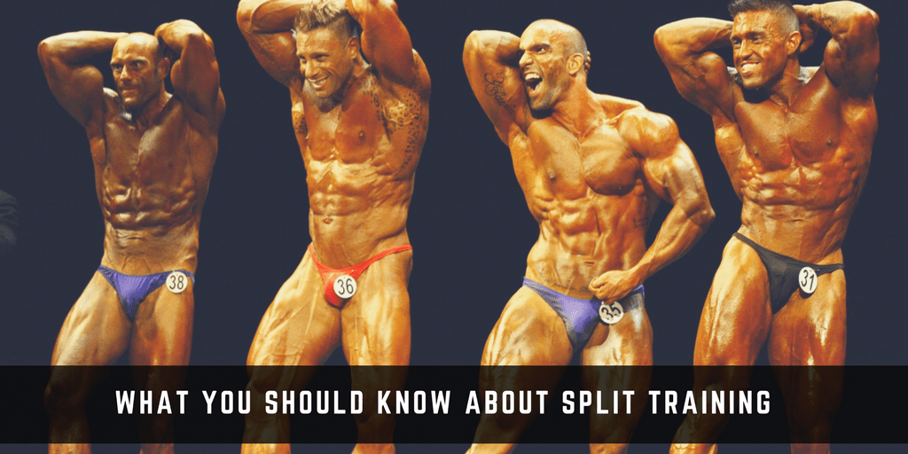 split training bodybuilding