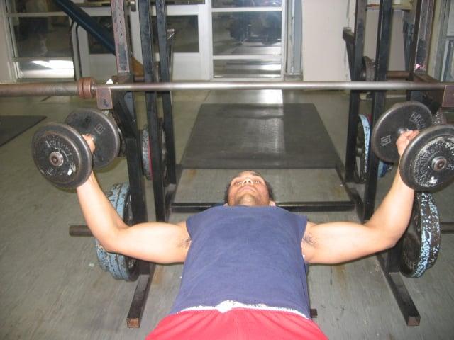 dumbbell chest exercises tutorials