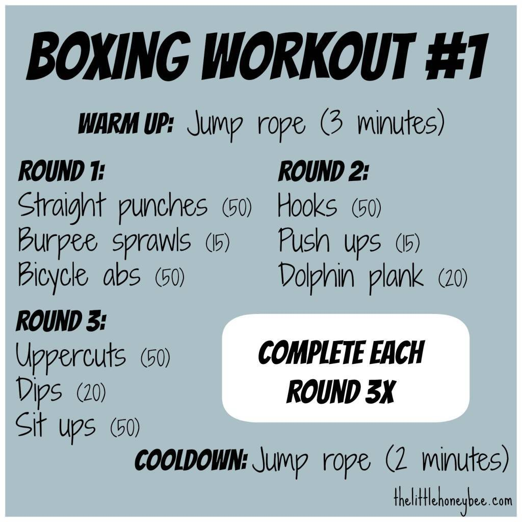 boxing exercises