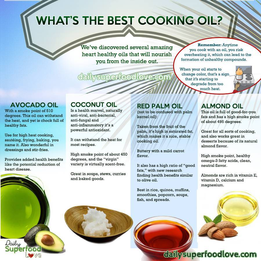 healthy oils for cooking