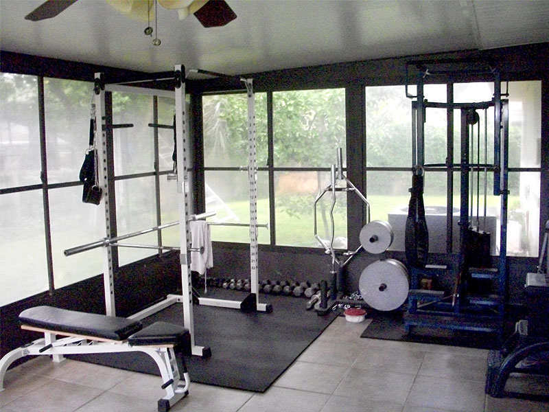 weight training equipment for home