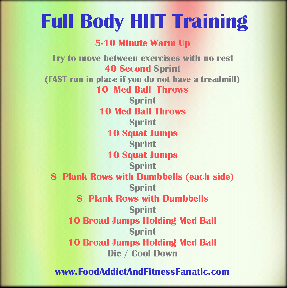 Home Hiit Training