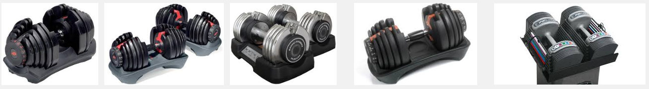 various types of free weights