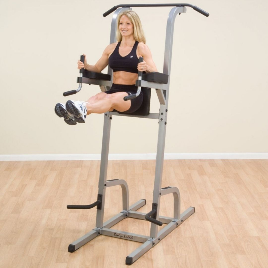 vertical knee raise ab machine
