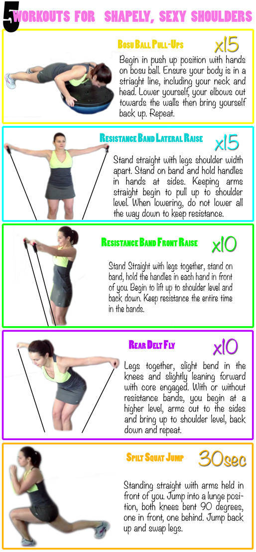 exercises for your shoulders