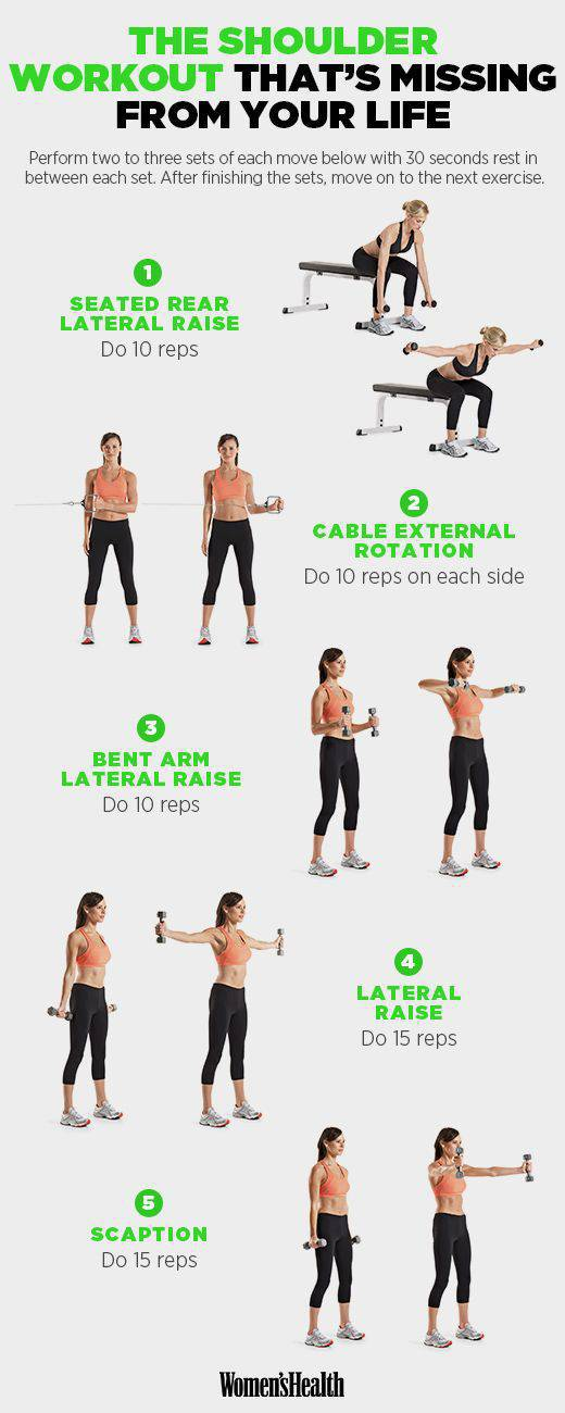 Best Shoulder Workouts For Women To Get Sexy Upper Body