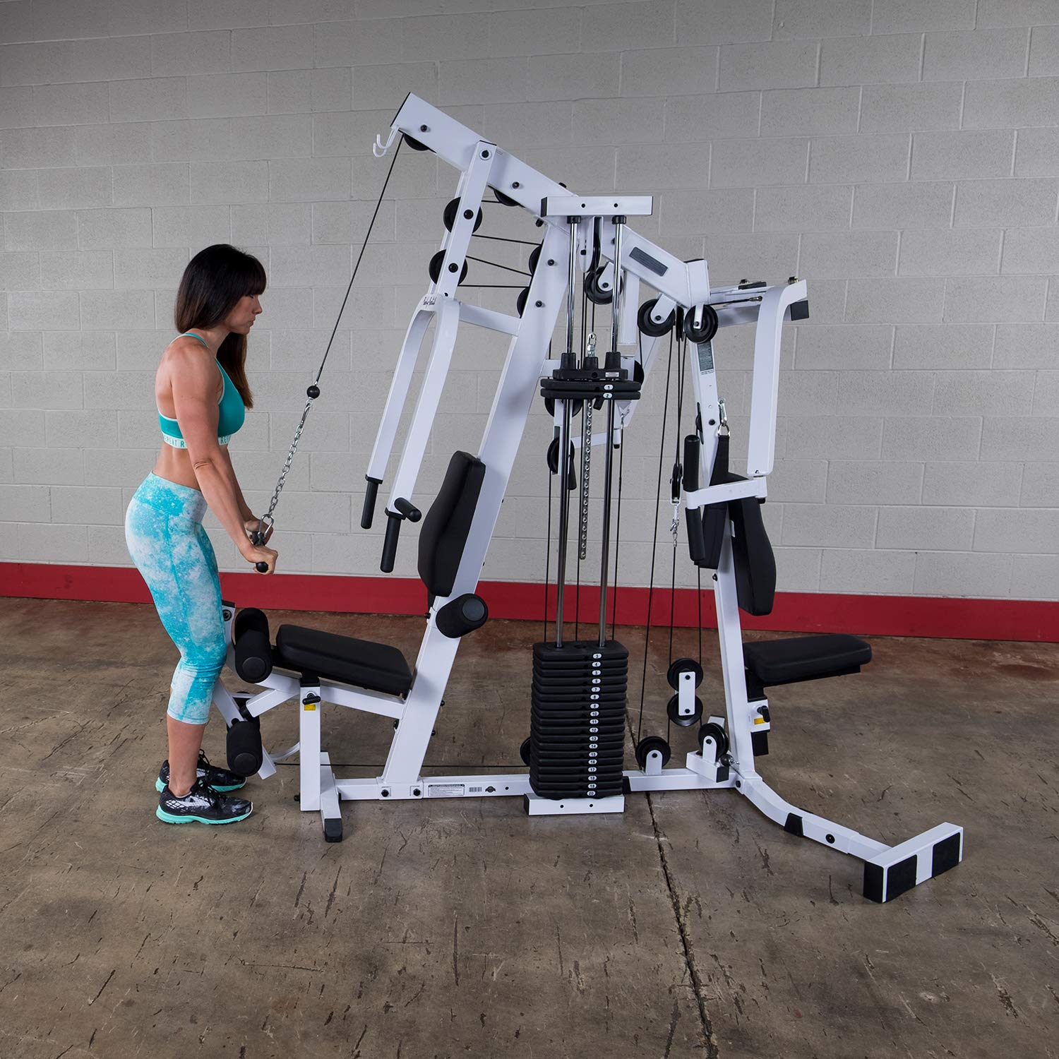 best home gym machine with stacks