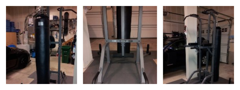 Power Tower With Heavy Bag Stand