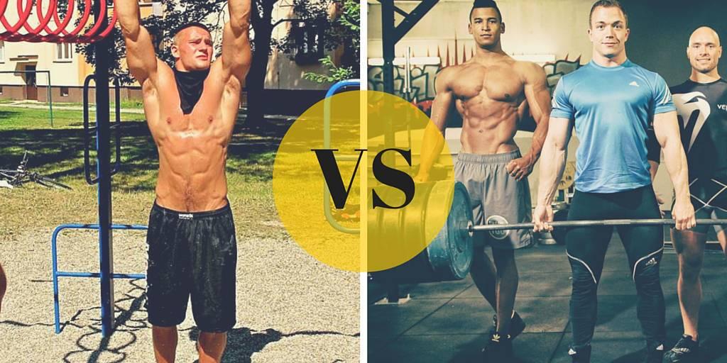 calisthenics vs powerlifting