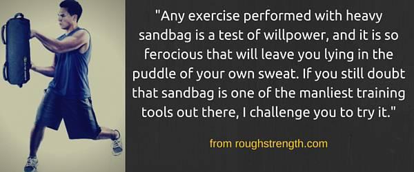 training-sandbag