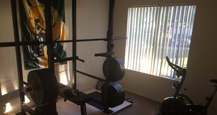 bedroom gym