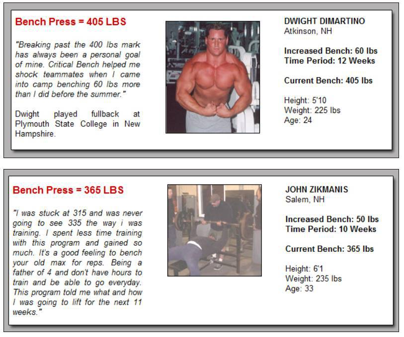 Powerlifting Bench Press Pyramid Program For Max Strength: Bench Press Increase Workout Program