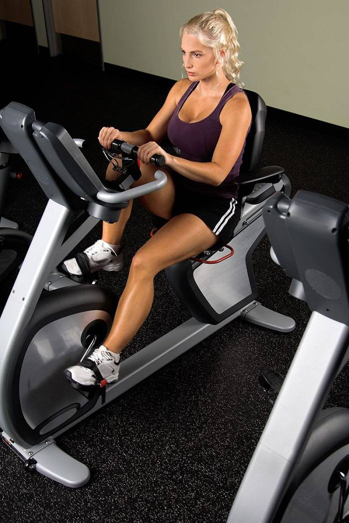 recumbent exercise bike workout