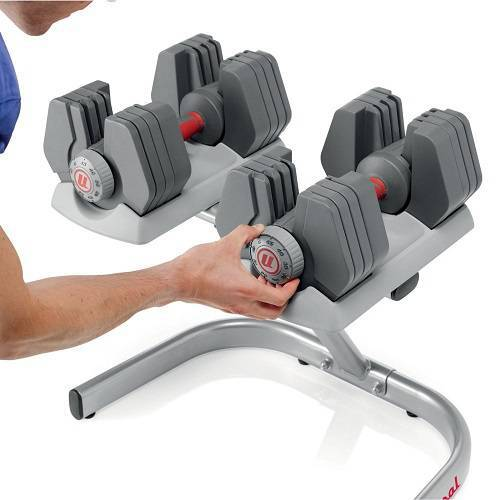 Universal PowerPak variable weight dumbbells
