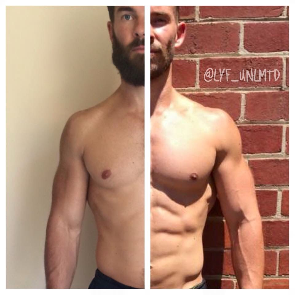 rowing machine before and after