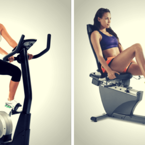 recumbent bike vs. upright bike