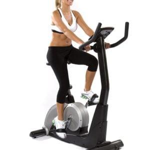 recumbent exercise bike vs upright