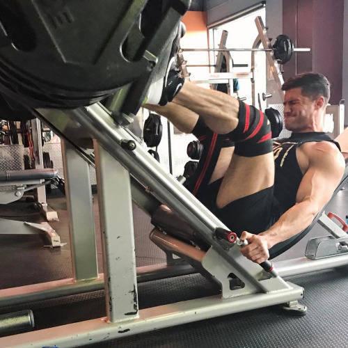 leg press variations
