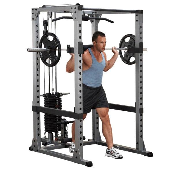 power rack exercises