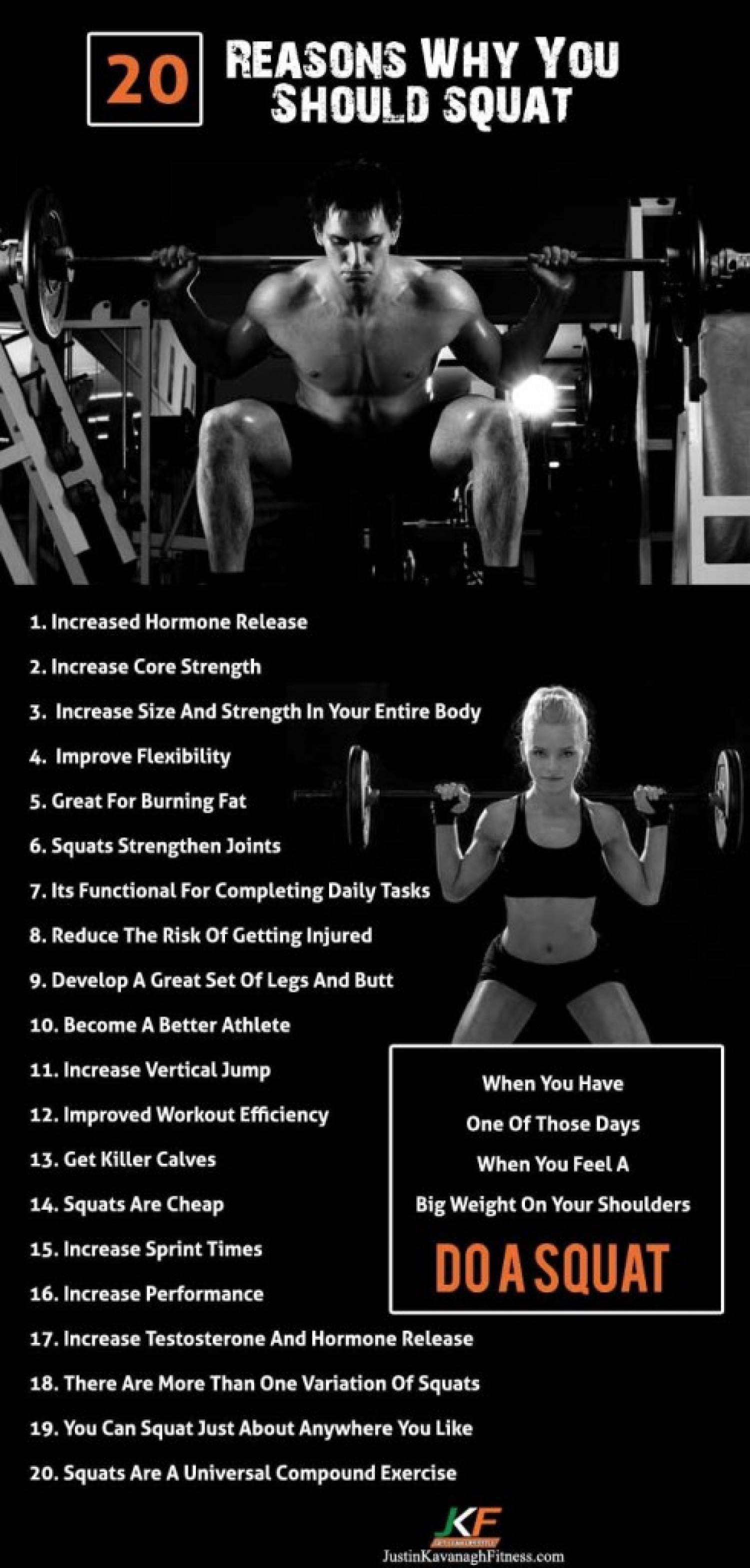 reasons to squat