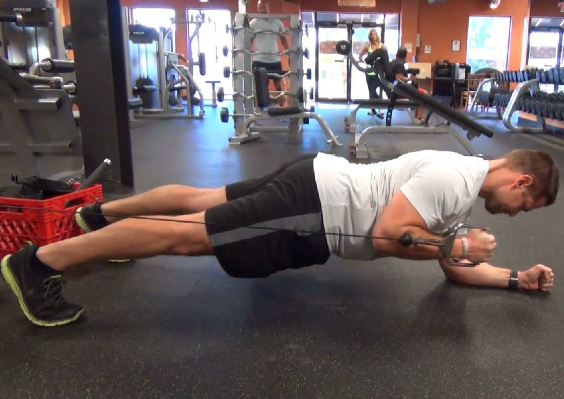 cable machine exercises for abs