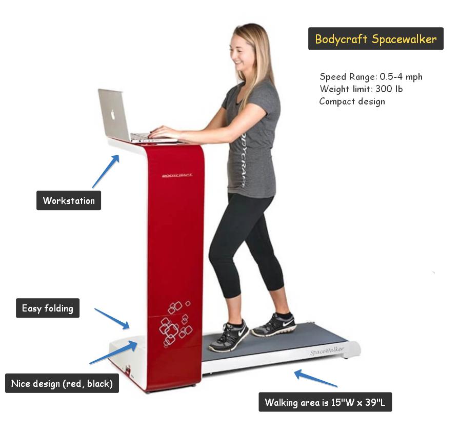 bodycraft spacewalker treadmill review