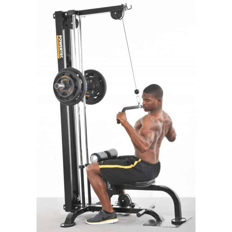 lat pulldown machine guide