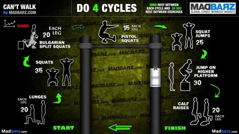 leg workout routine
