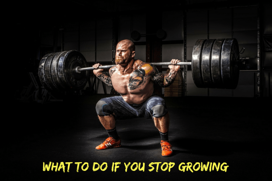what you should do if you stop growing