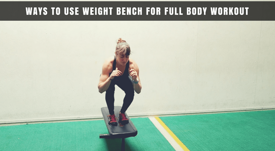 bodyweight exercises on bench