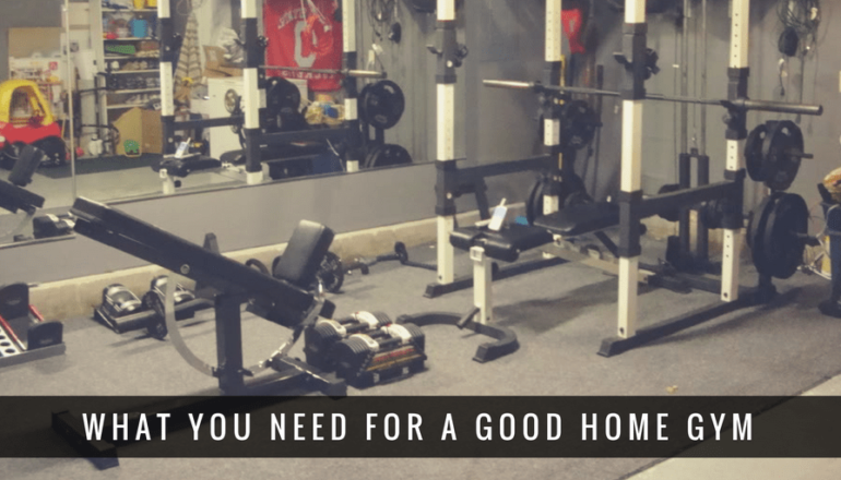 Home gym essentials equipment you need for total workouts