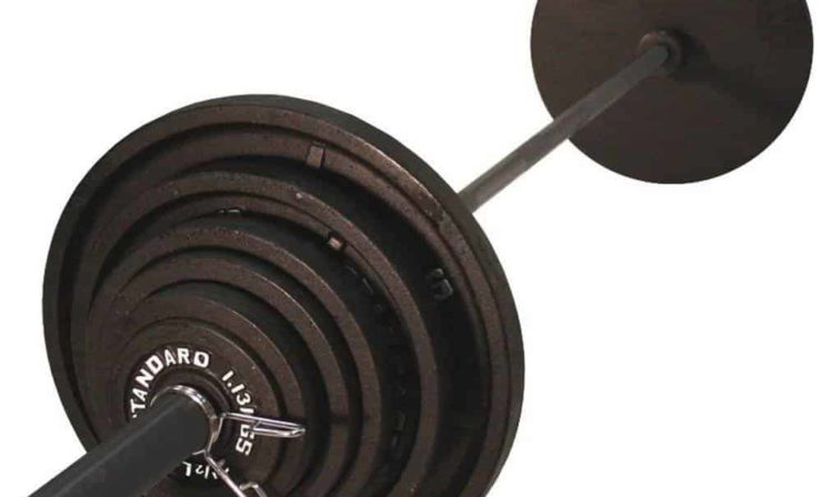 USA Sports 300 lb. Olympic Weightlifting Set