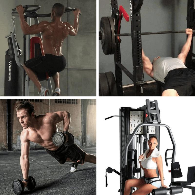 Power tower vs power rack vs home gym machine vs free weights
