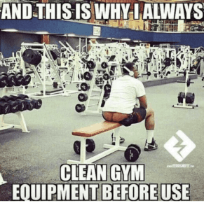 dirty gym