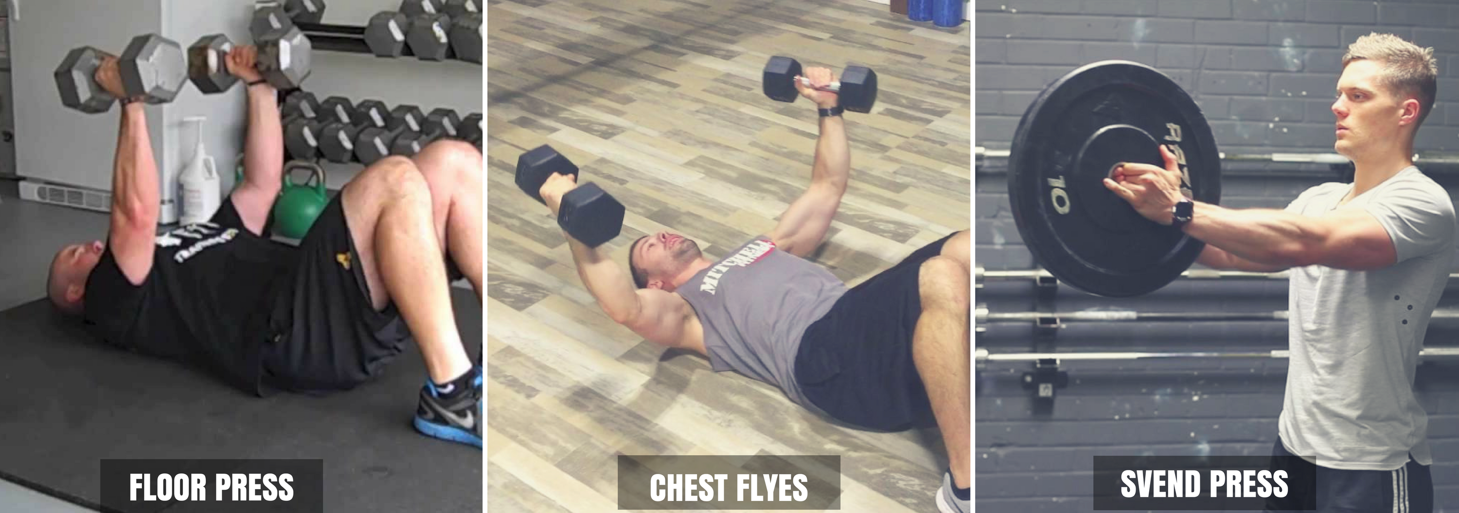 Dumbbell Chest Exercises Without Bench
