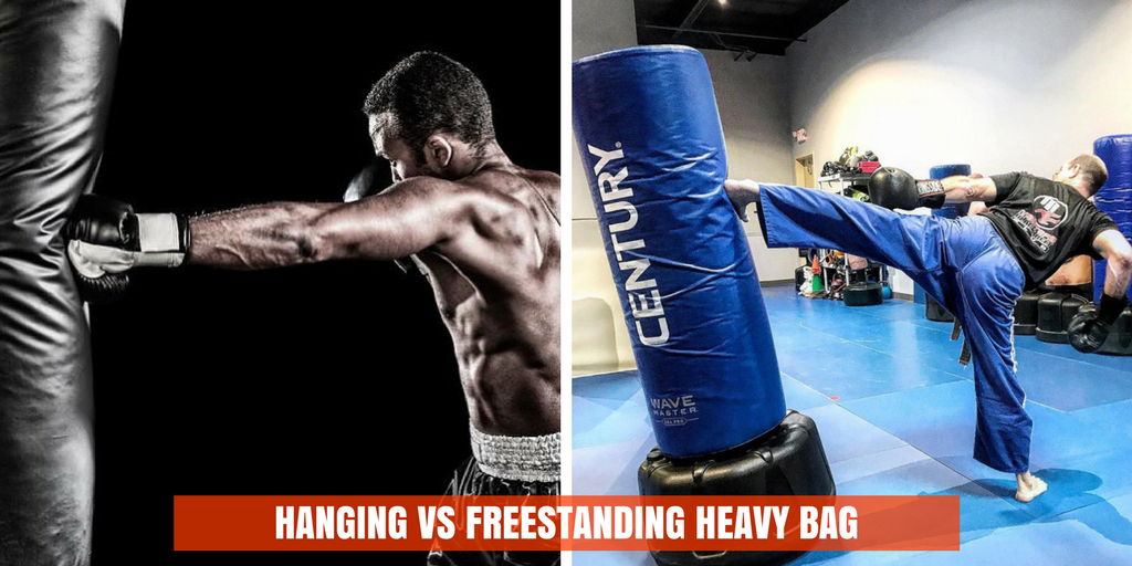 hanging vs freestanding heavy bag