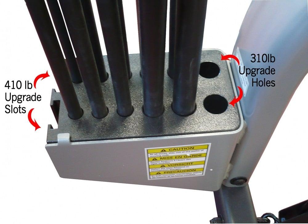 bowflex power rods upgrade