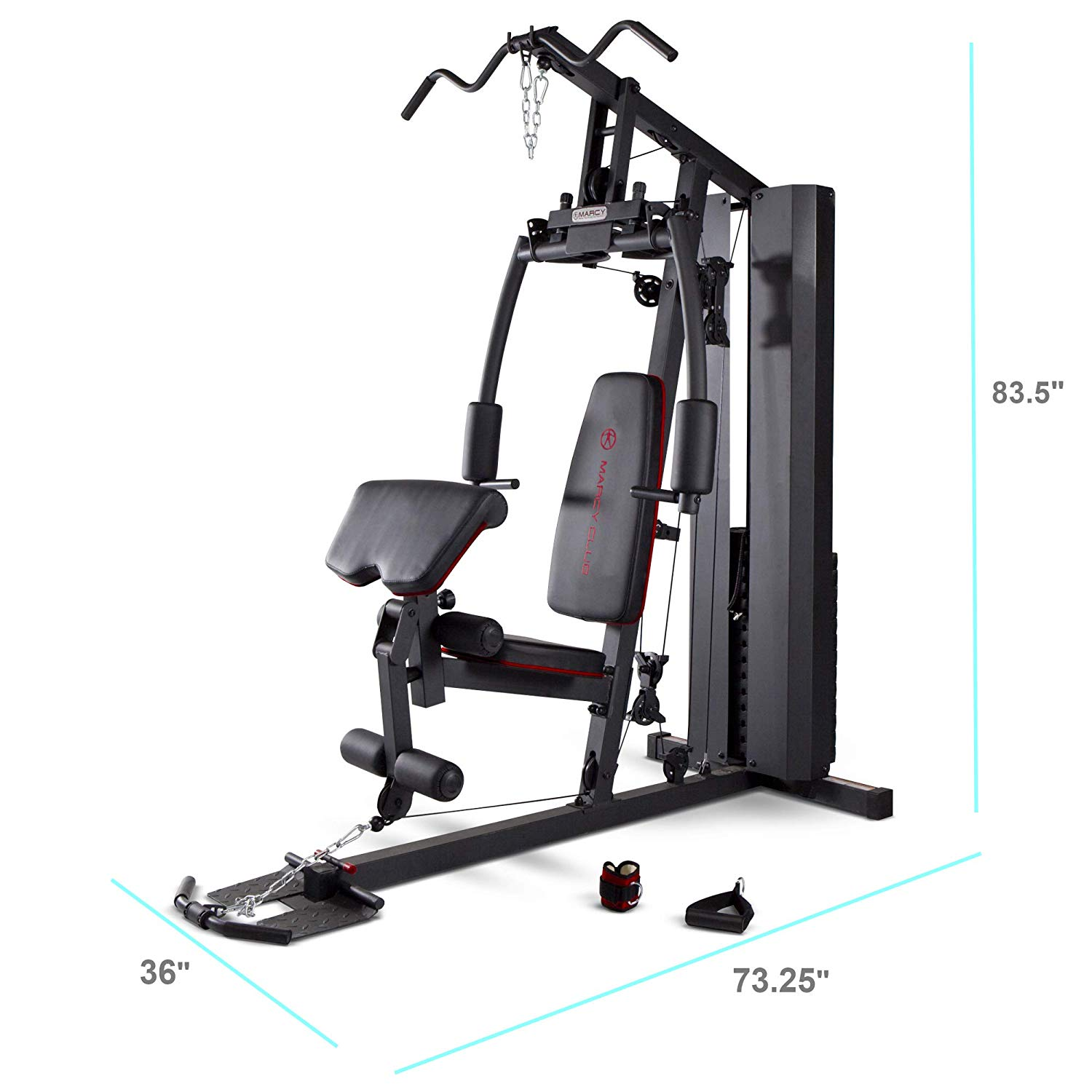 Marcy Stack Dual Function gym