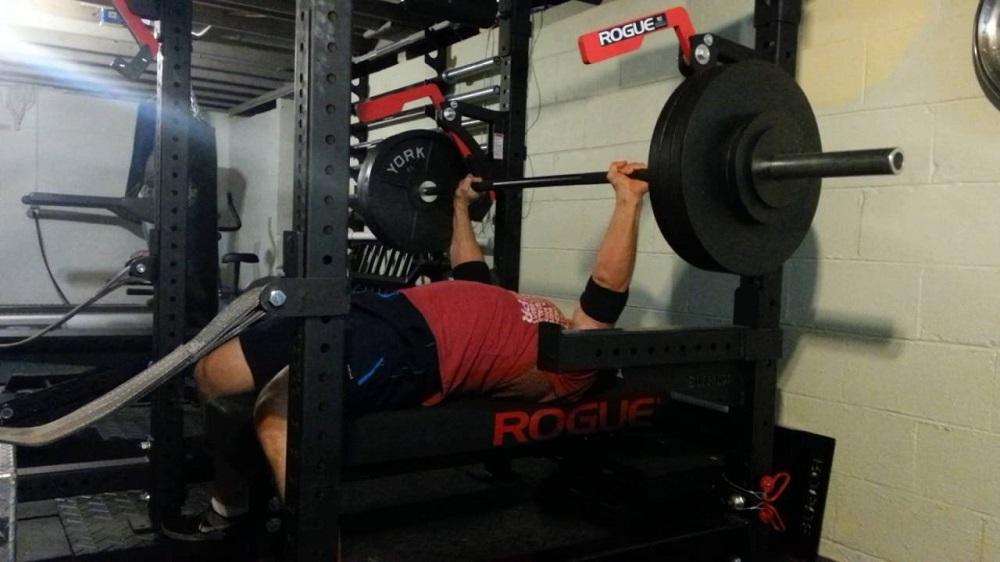 power rack weight training machine